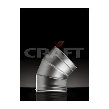 Craft сэндвич-колено 45* (316/0,5мм+304/0,5мм) Ф115х200