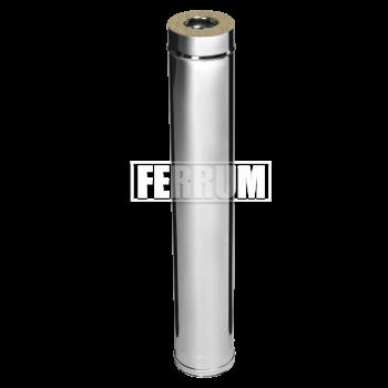 Феррум сэндвич 1,0м (0,8мм+нерж.) Ф 115х200