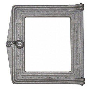 Дверка топочная ДТ-4С (р) под стекло (250х210)